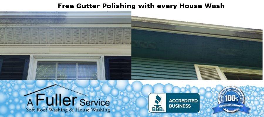 Gutter Cleaning A Fuller Service
